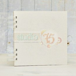 Chipboard album 20x20cm, 15 cards