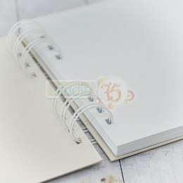 Chipboard / cardstock album 25x25 cm, 50 cards