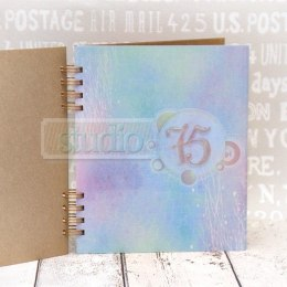 Lavender binded journal book