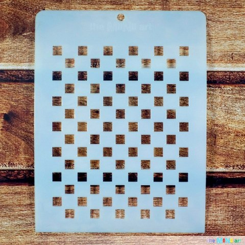 Stencil - chess board
