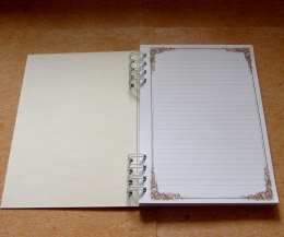 Notebook- romantic pattern.