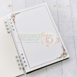 Notebook - romantic roses 02