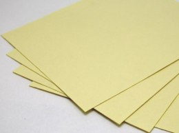 Mulberry paper, A4, yellow, 260 gram