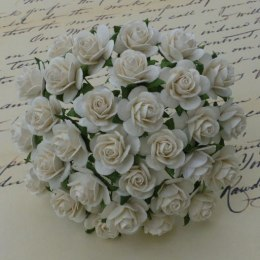Mullberry roses - ivory - 20mm
