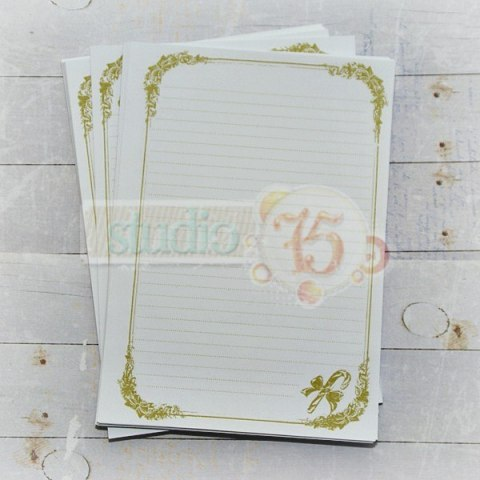Notebook inner pages - candy lane , green