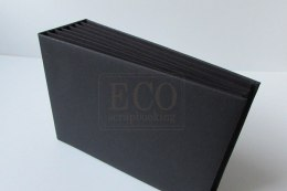 16x21 cm Hidden hinge album,black, 6 cards
