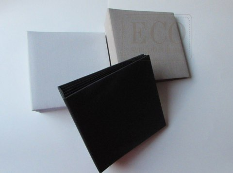 16x16 cm Hidden hinge album,black, 6 cards