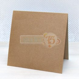 Eco blank cards- 15x15cm, 20 pcs