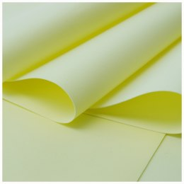 Foamiran 0,6 mm,35 x 30 cm, light yellow