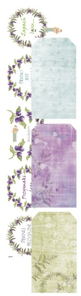 The Berry Copse paper strip 01/02