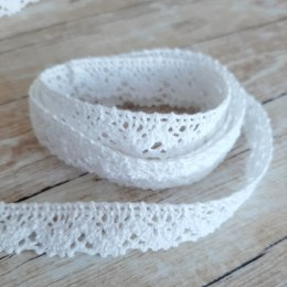 Cotton lace - 20mm - white,2 meters