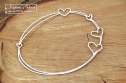 Mamma's heart - Big Oval frame