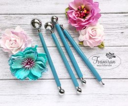Metal ball tool set , 4 pcs