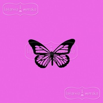 Rubber stamp- Monarch buterfly