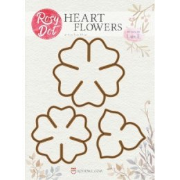Rosy Dot - heart flowers
