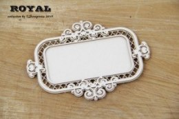 Royal-rectangle frame