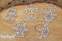 Tatting christmas - big baubles
