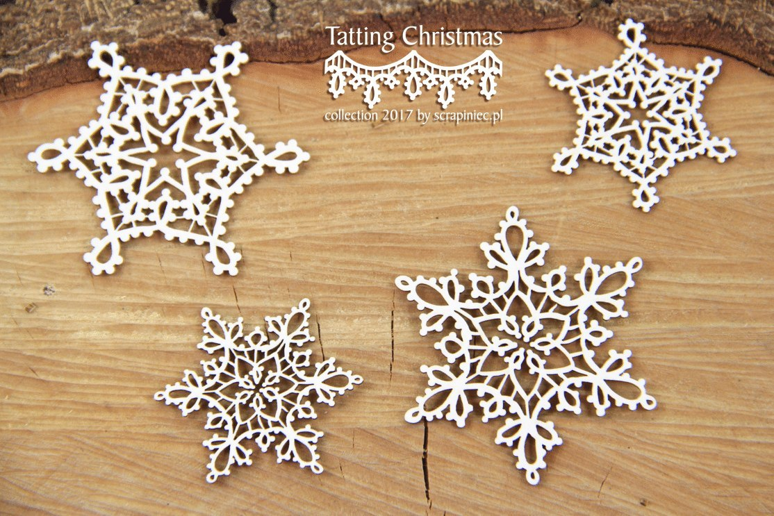 Tatting christmas - small stars