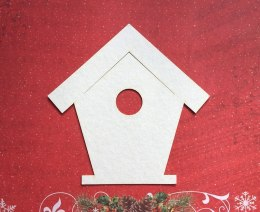 Die cut chipboard- house