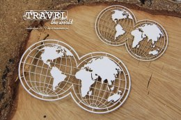 Travel the world - 2 globes
