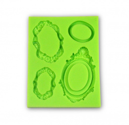 PENTART-SILICONE MOLD - ORNAMENTS