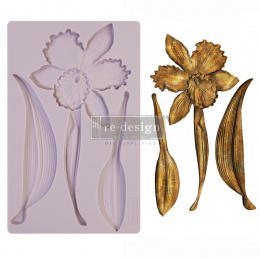 Silicone mould - Wild Flower -Prima Redesign - 20x13 cm