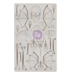 Silicone mould wings and bones Finnabair - Prima Marketing