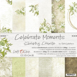 Scrapbooking papers pad - Celebrate Moments
