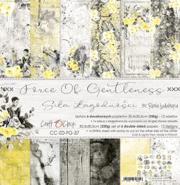 Scrapbooking papers pad - Force of Gentleness- Craft o`clock