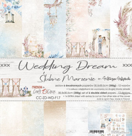 Scrapbooking papers pad - Wedding Dream