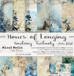 Scrapbooking papers pad -Hours of Longing - Craft o`clock