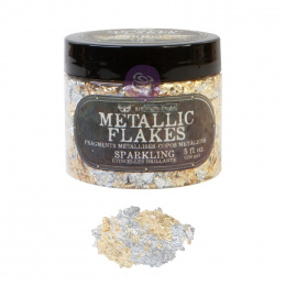 Metallic flakes - Sparkling Gold and Silver- Finnabair - Prima Marketing