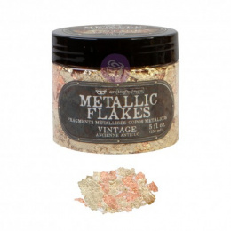 Metallic flakes - Sparkling Gold and Copper - Finnabair - Prima Marketing