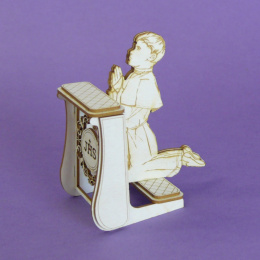 3d laser cut chipboard - boy