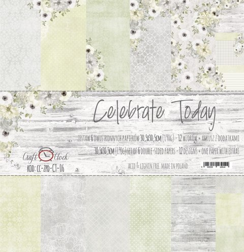 Celebrate Today 12x12 paper set