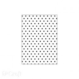 Embossing folder 2D, DOTS, 13 CM X 18 CM