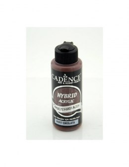 Hybrid Acrylic Paint Matt, 120ml, CHOCOLATE