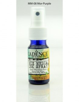 MIX Media Ink Spray Cadence, MOR PURPLE, 25ml
