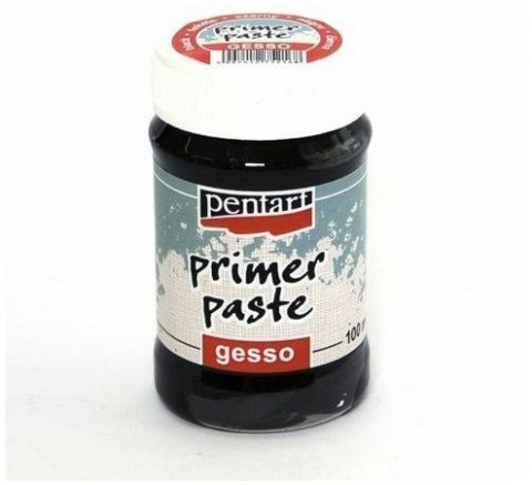 Primer paste /gesso/black/100ml/Pentart