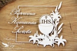 Tatting Communion - Square frame