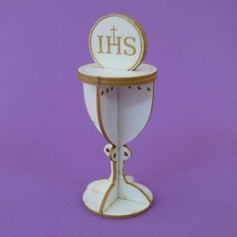 First Holy Communion DIE CUT CHIPBOARD - 3 D