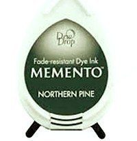 Tusz do stempli Memento Dew drops Northern pine