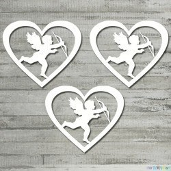 Love Partis - cupid in heart