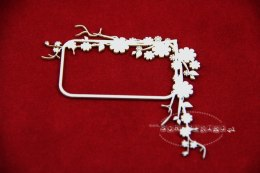 Apple- tree blossom frame 01