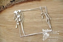 Boho Love - rectangle frame