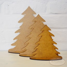 Medium Christmas tree standing - HDF