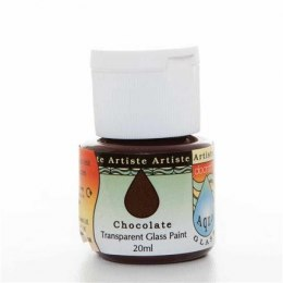 GLASS PAINT - ARTISTE - CHOCOLATE, 20 ML