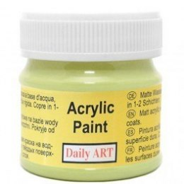 Acrylic Paint, 307 pistachio, 50 ml