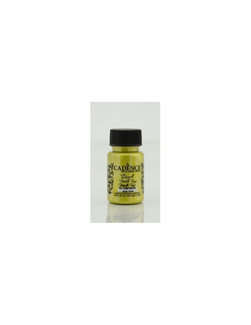 Dora Metalic Paint, Chartreuse, 50ml