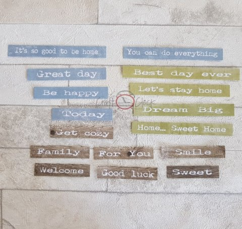 Home... sweet home - DIE - CUTS QUOTES